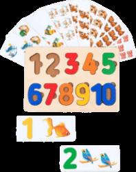 Детские игрушки для обучения счёту