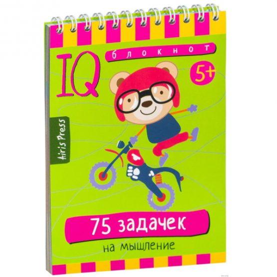 IQ блокнот. 75 задачек на мышление