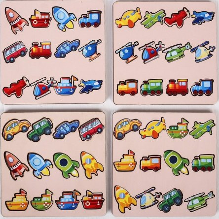 комодик игрушка плоский транспорт