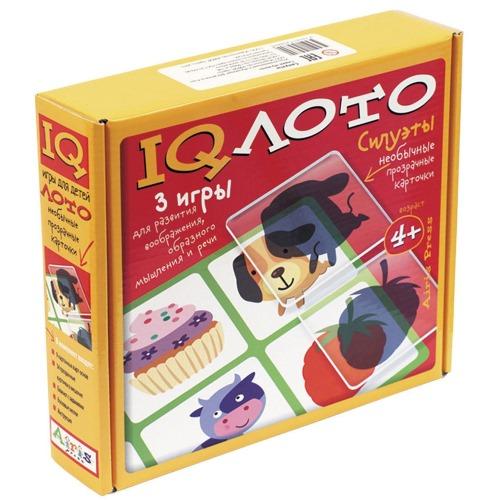 IQ Лото Силуэты 3 в 1