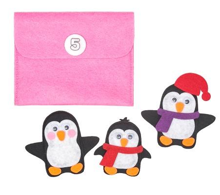 Новогодняя посылка для детей с играми