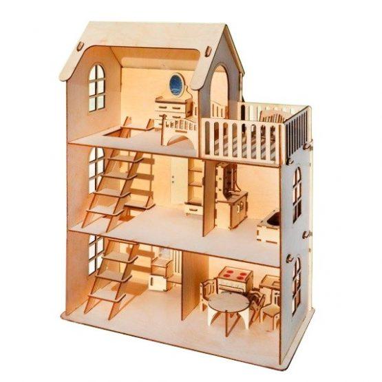 Eco дом — конструктор 59 деталей