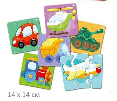 ZigZag Puzzle «Транспорт»