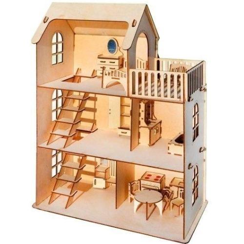 Eco дом - с мебелью 293 детали