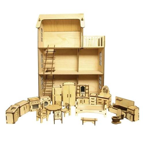 Eco дом — с мебелью 293 детали